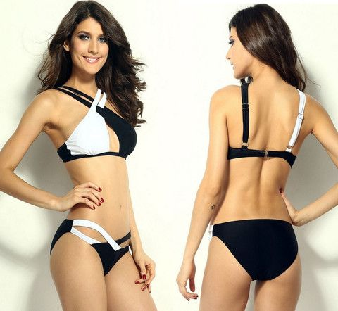 2015 New Crisscross Bikini Top Swimsuit – eDealRetail