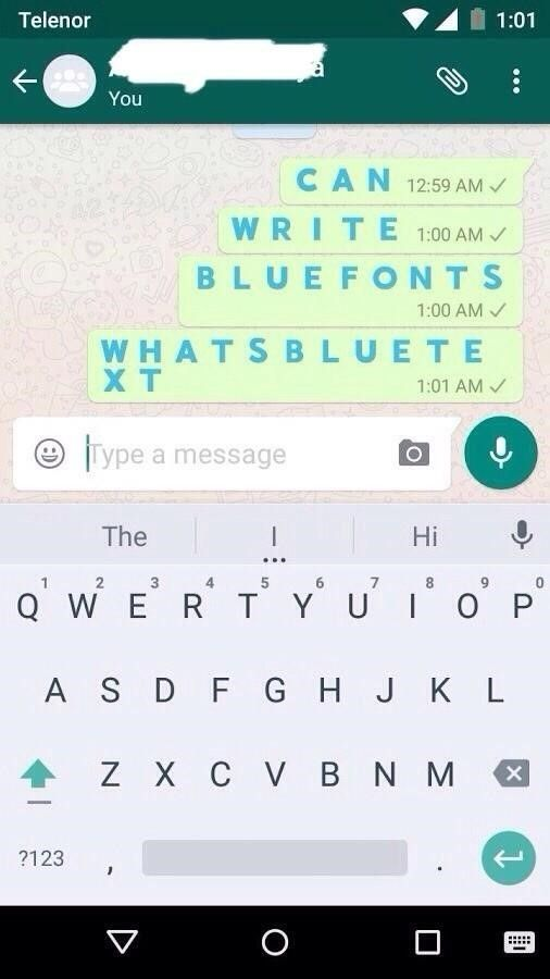 How To Change The Color Of Whatsapp Text Text Color Text Style