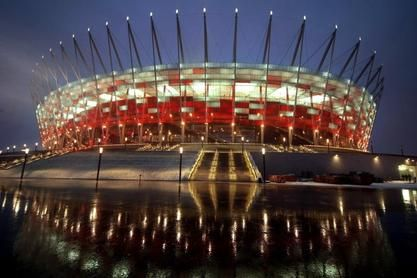 the national stadium in Warsaw. Unfortunately, not 2012 Germany reached the final.
