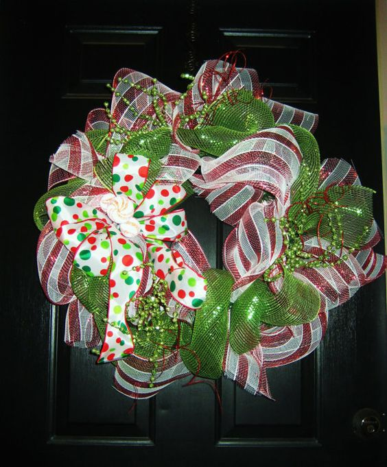 wreath fr kitchen door