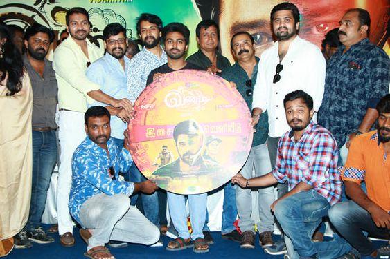 GV Prakash Launched Vandi Movie Audio