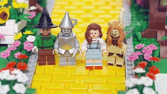 Wizard of Oz lego!!! :)