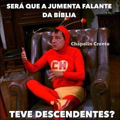 Chapolin crente - facebook