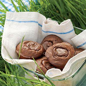 Chocolate Hazelnut Brownies   MyRecipes.com