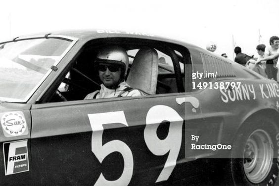 Bill Ward, surprise Talledega winner in 1970 in the pony car division