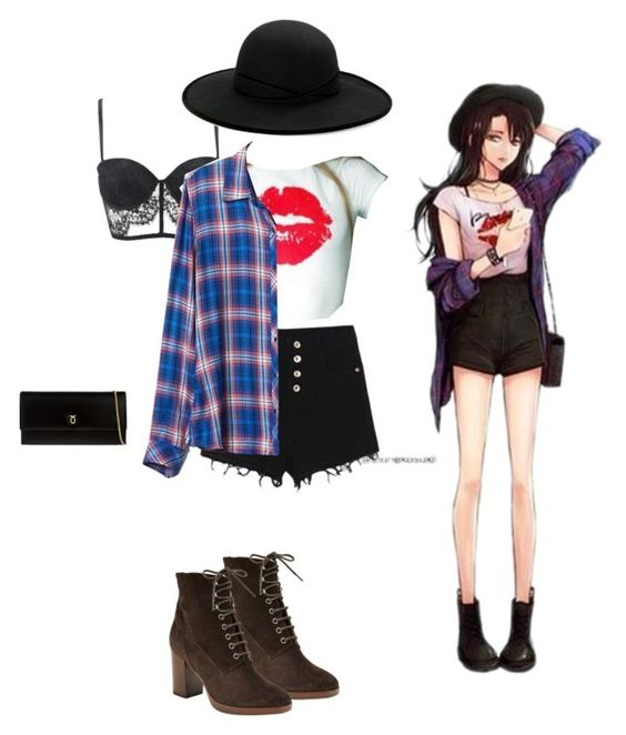 """""""Untitled #97"""" by cupcakecookiegirl ❤ liked on Polyvore featuring Levi's, WithChic, Gap, Launer, Betmar and John Lewis"""
