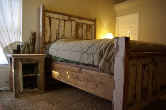 Images barnwood headboard reclaimed rustics vintage for Bedroom furniture in zanesville ohio