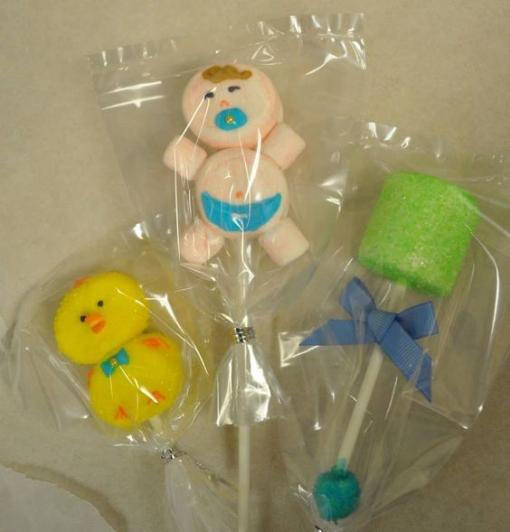 shower and more marshmallow pops marshmallows baby showers pop showers