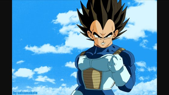 #9! Vegeta the prince himself! Has to many powerful moments to name just one! He is awesome his attitude is great his arrogance is great balance to the Z fighters and his competitiveness!