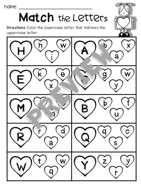 math worksheet : valentines day  letter worksheets phonics and literacy : Maths Worksheet Works