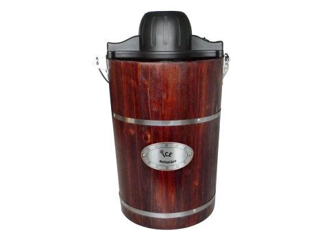 Máquina de hacer helado GELATO de madera - 5.5 L
