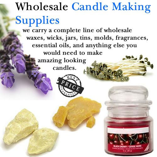 candle making supplies / always need a good wholesale supplier