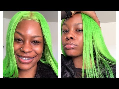 Water Color Method How To Get Slime Green Hair Aliexpress