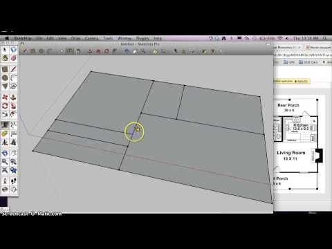 ▶ How to start a Architectural Floorplan in Google Sketchup - YouTube