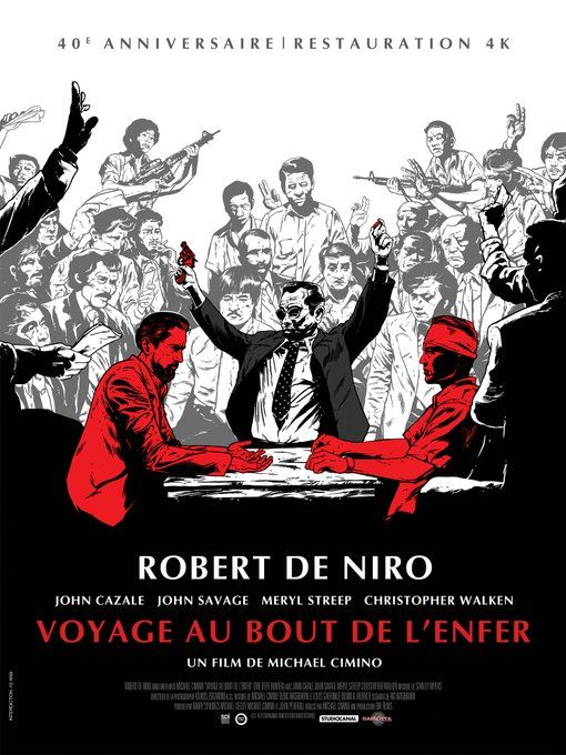 Voyage Au Bout De Lenfer : voyage, lenfer, Philippe, Rouyer, Twitter, Hunters,, Cinema, Hunter, Movie