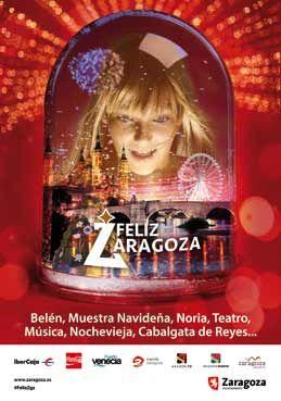 Cartel Navidad Zaragoza 2013: