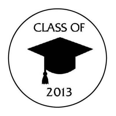 Class of 2013 Graduation Hershey Kiss Favors