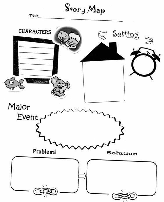 Story map graphic organizer first grade stuff pinterest story