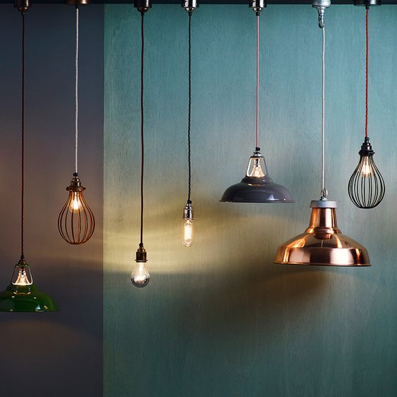 From smart tech to daring shapes, the latest lighting designs are pushing the boundaries. We love these pendant lights by high-street retailer Heal's - read more about them in #EDUKNov15