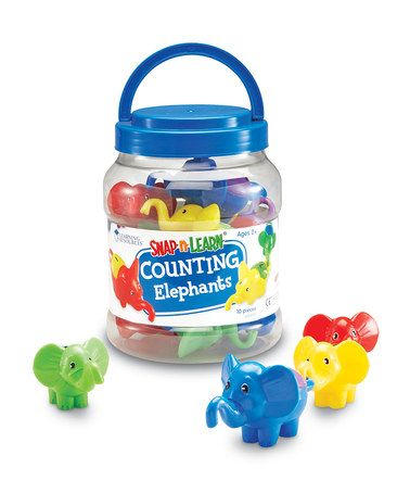 Another great find on #zulily! Counting Elephants Snap 'N' Learn Set #zulilyfinds