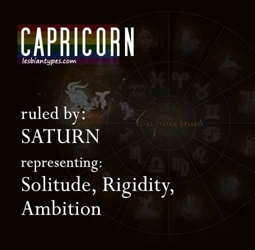 Lesbian capricorn