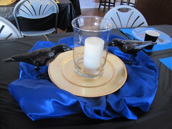 Hogwarts harry potter birthday party ideas ravenclaw