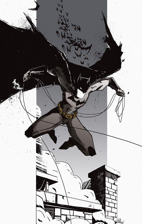 Batman on Behance