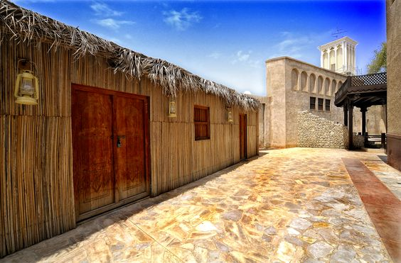 Palm leaves houses (Al Arish) | UAE in the past | Pinterest | Palms, Houses and Leaves