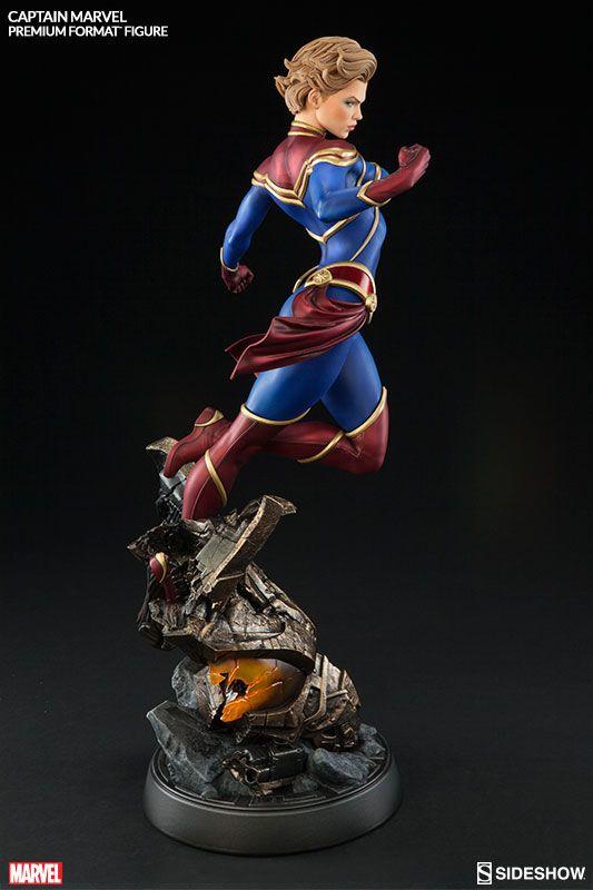 Captain Marvel Premium Format Figure
