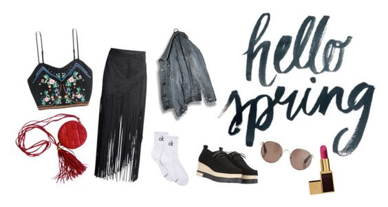 """""""HS"""" by lxxvii on Polyvore featuring ファッション, H&M, Calvin Klein, Tom Ford, Linda Farrow と Chanel"""