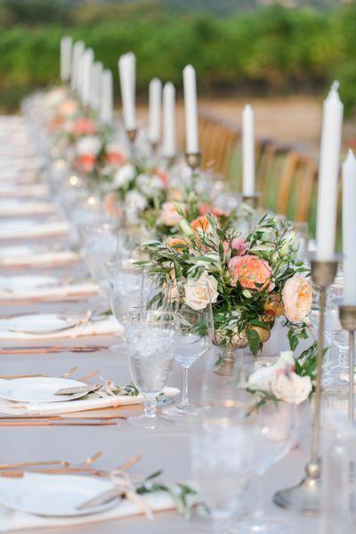 D coration de tables de mariage 2017 les plus belles tendances pinteres - Les plus belles tables basses ...