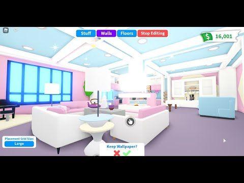 Adopt Me Futuristic House Tour Build Ideas With Madam Madhouse Youtube Futuristic Home House Tours House