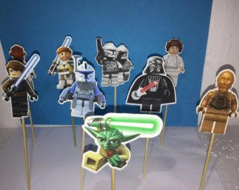 Star Wars cupcake toppers 14 Star Wars inspired by Fairfable