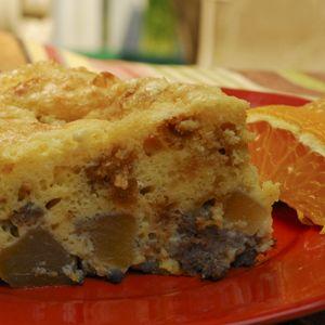 Maple Sausage Apple Bake: http://www.midstatemills.com/consumer/recipes/recipecard.php?usr==121