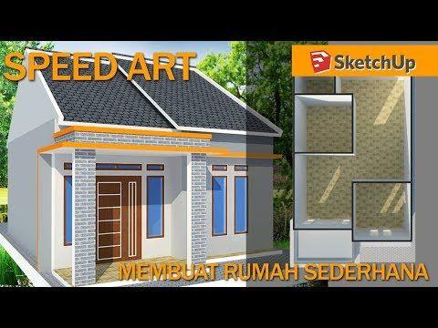 Tutorial Google Sketchup Pemula Membuat Desain Rumah Minimalis Sederhana Youtube Rumah Minimalis Rumah Rumah Indah