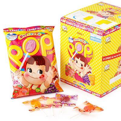 箱入★不二家POPキャンディ(20本入袋x6パック)★【駄菓… [楽天] #Rakutenichiba