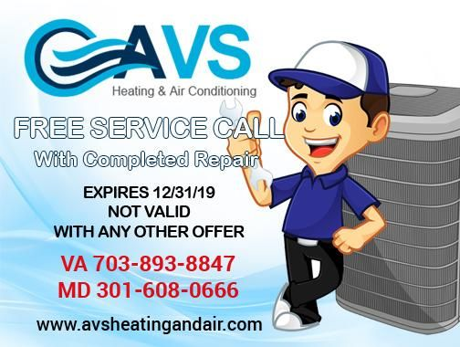 Avs Heating And Air Conditioning Announced Special Discount Coupon