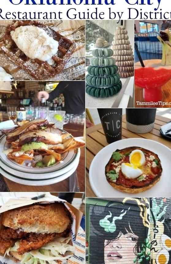Top Oklahoma City Restaurants By District Including Bricktown Paseo Arts District Adventure District Downtown Okc A In 2020 Oklahoma City Restaurants Food Downtown Okc