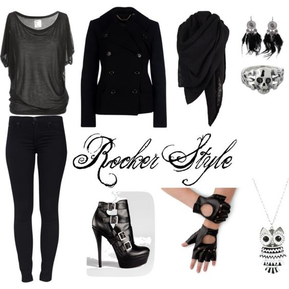 """Rocker Style"" by bru123rock on Polyvore"
