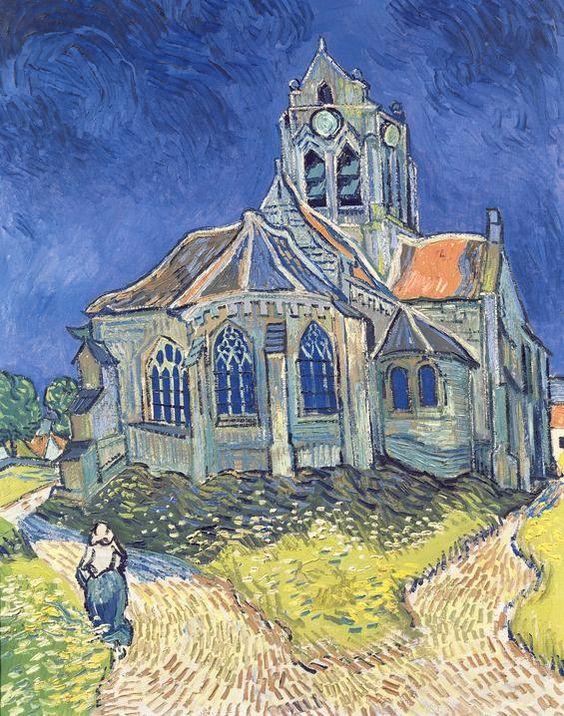 The Church in Auvers-sur-Oise - Van Gogh [Art Print] £15