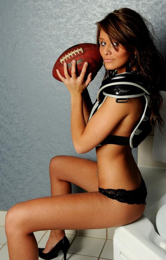 Football girls sexy
