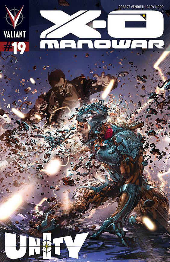 X-O Manowar #19 - Prisoners of Circumstance (Issue)