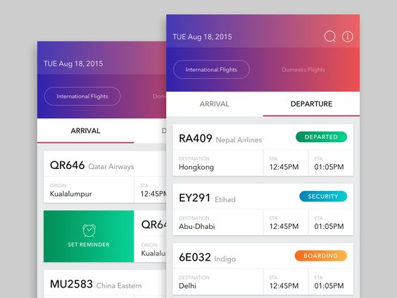 Flight Schedule App