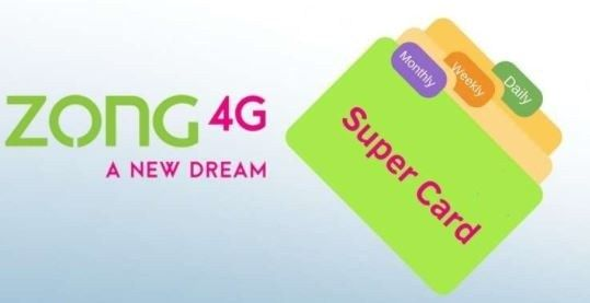 Zong Super Card Packages 500 650 800 Full Details In 2021 Simple Cards Cards Internet Packages