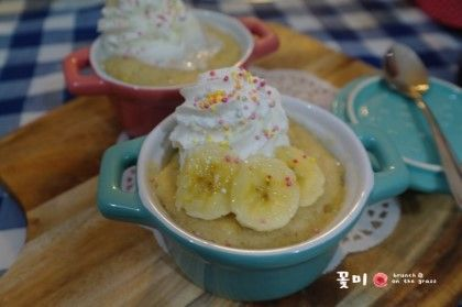 노오븐 1분 베이킹 !! 바나나 컵케익만들기 ♡ 바나나머핀 : 네이버 블로그