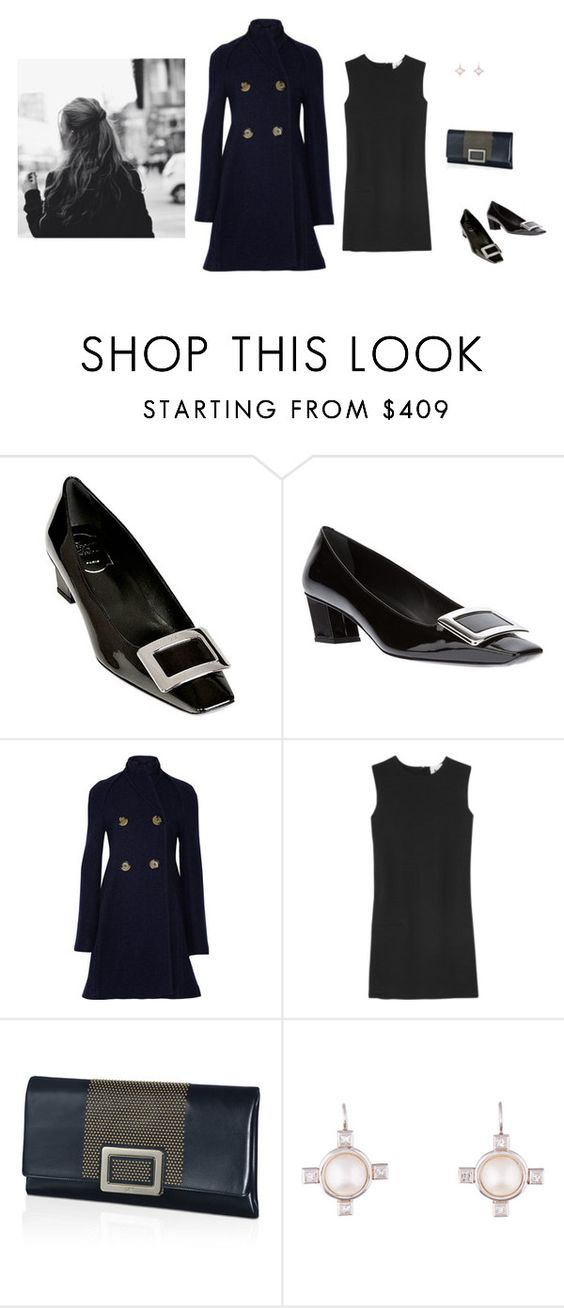 """Old-fashioned girl"" by panda6980 ❤ liked on Polyvore featuring Roger Vivier, Victoria Beckham, Acne Studios and Cathy Waterman"