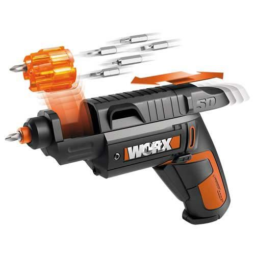 Free shipping with 31 accessories  famous Brand WORX electrical screwdriver 4V / 1.5Ah Li Ion power tool http://ali.pub/n2voe