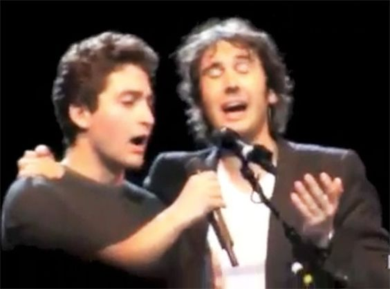 Young Audience Member Sings With Josh Groban - and Sounds Just Like Him! - Music Video