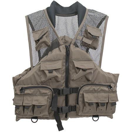 Master Sportsman Fishing Life Vest, Taupe - Walmart.com
