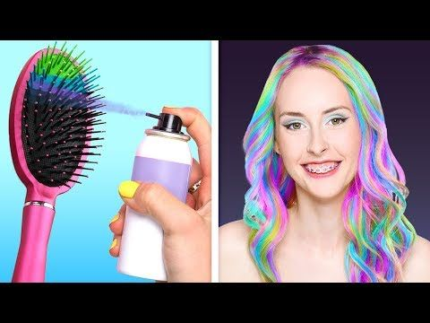 21 Amazing Hair Tricks For A Real Princess Youtube With Images